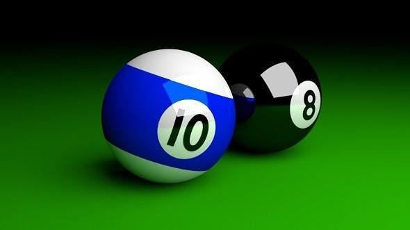 Pool Balls - 3DOcean Item for Sale