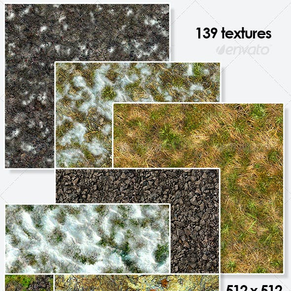 Autumn and Winter Seamless Textures Pack