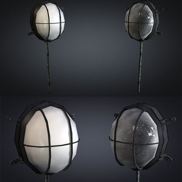 Wall lamp 01 - 3DOcean Item for Sale
