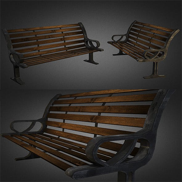 Bench 01 - 3DOcean Item for Sale