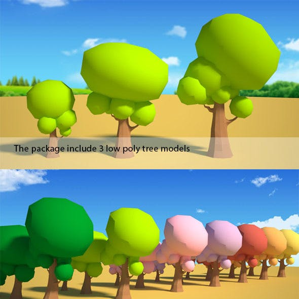 Low Poly Tree