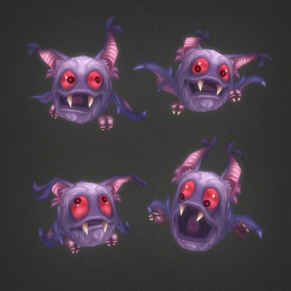 Low Poly Micro Bat Vlad