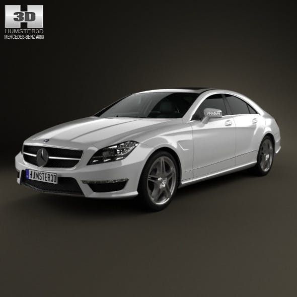 Mercedes-Benz CLS-Class 63 AMG 2012 - 3DOcean Item for Sale