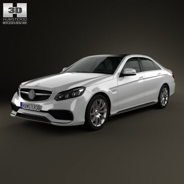Mercedes-Benz E-Class 63 AMG 2014 - 3DOcean Item for Sale