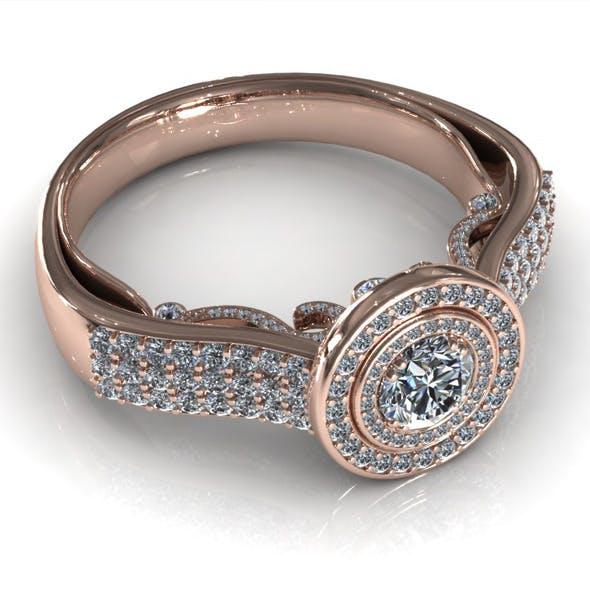 Diamond Ring Creative 006 - 3DOcean Item for Sale