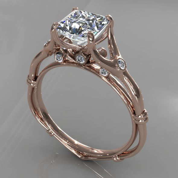 Diamond Ring Creative 009