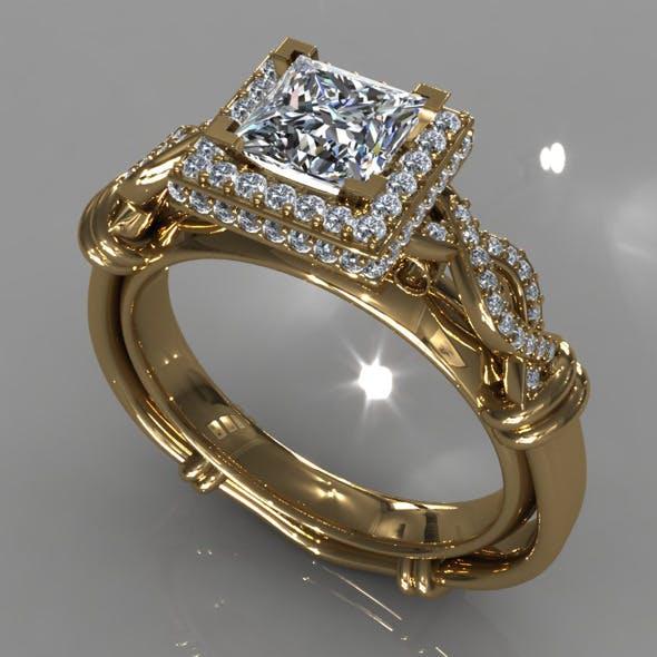 Diamond Ring Creative 013