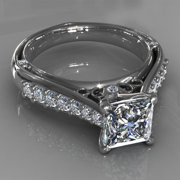 Diamond Ring Creative 015
