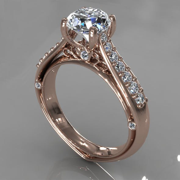 Diamond Ring Creative 017