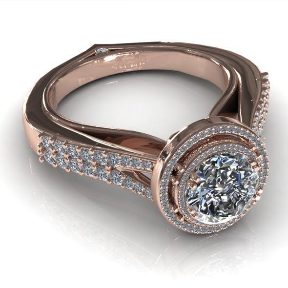 Diamond Ring Creative 019 - 3DOcean Item for Sale