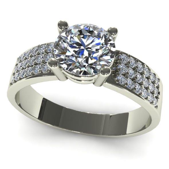 Diamond Ring Creative 020 - 3DOcean Item for Sale
