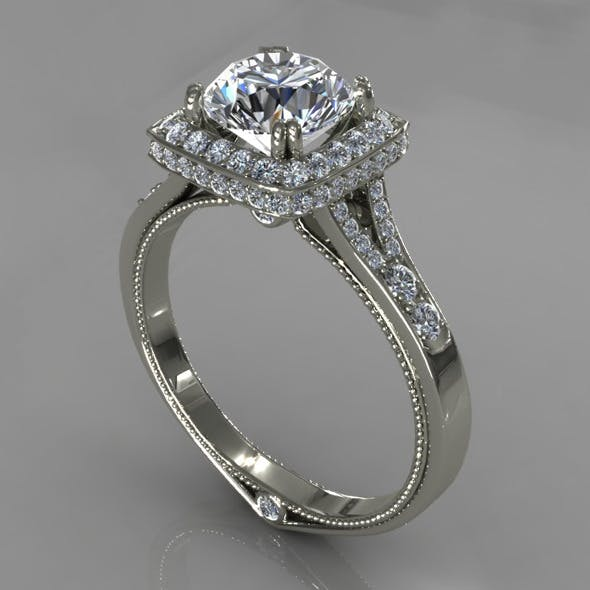 Diamond Ring Creative 024