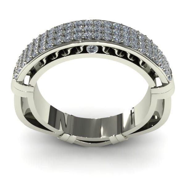 Diamond Ring Creative 025 - 3DOcean Item for Sale