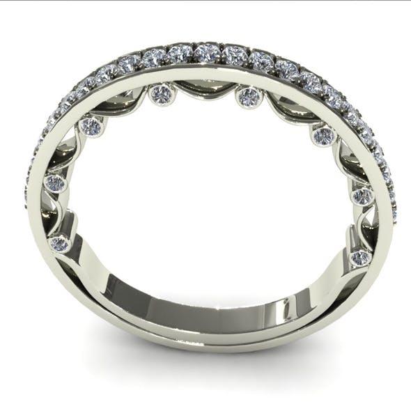 Diamond Ring Creative 028 - 3DOcean Item for Sale