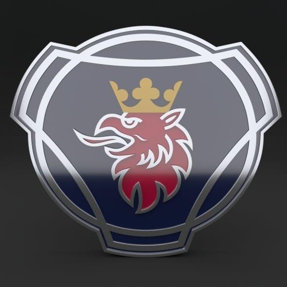 Scania Logo - 3DOcean Item for Sale