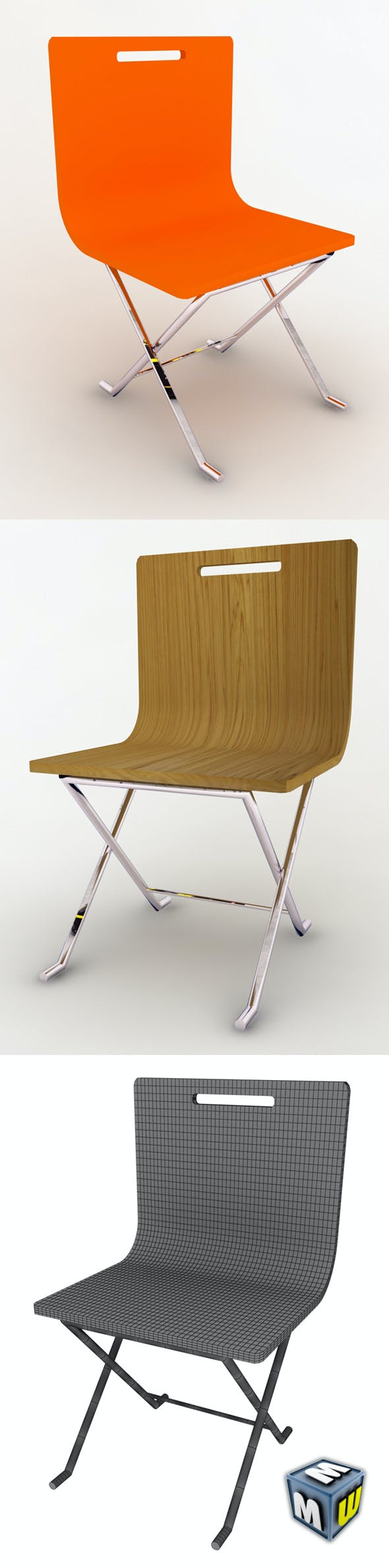Chair MAX 2008 - 3DOcean Item for Sale