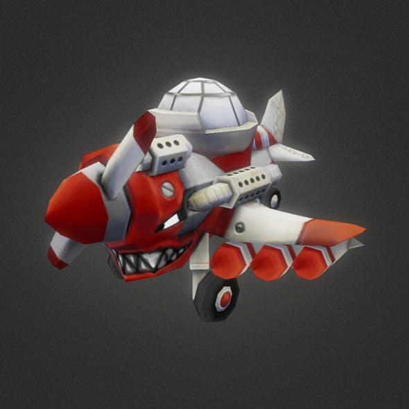 Low Poly Micro Plane