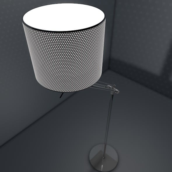 Sleek Lamp Model