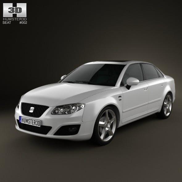Seat Exeo Sedan 2009  - 3DOcean Item for Sale