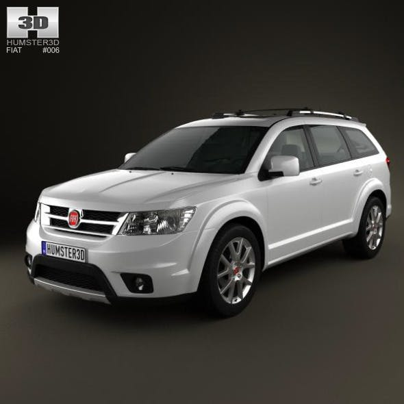Fiat Freemont 2011 - 3DOcean Item for Sale