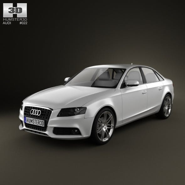 Audi A4 Saloon 2011 - 3DOcean Item for Sale