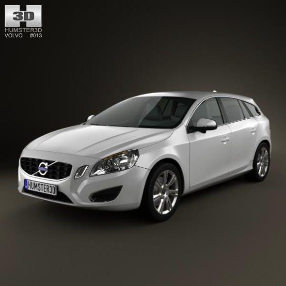 Volvo V60 2011 - 3DOcean Item for Sale