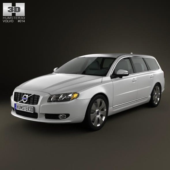 Volvo V70 2011 - 3DOcean Item for Sale