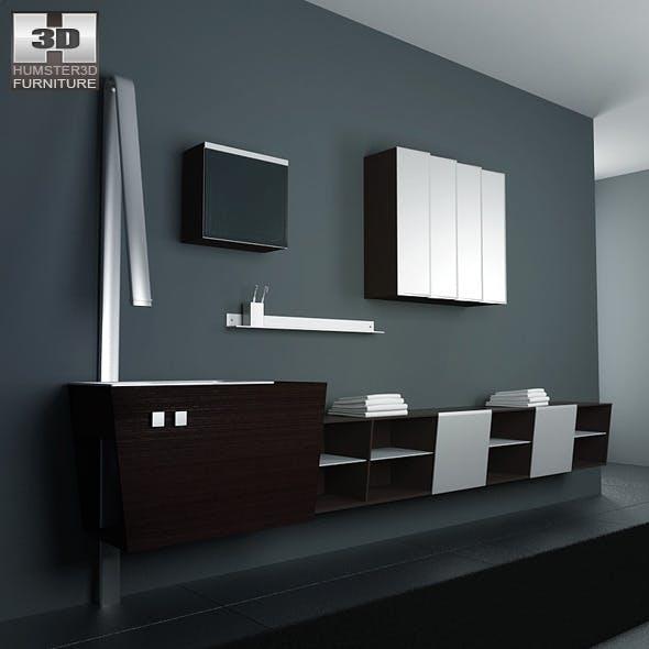 Bathroom furniture 05 Set - 3DOcean Item for Sale