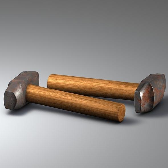 Old Hammer procedural - 3DOcean Item for Sale