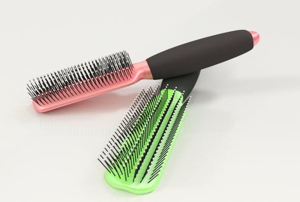 Hair Brush - 3DOcean Item for Sale