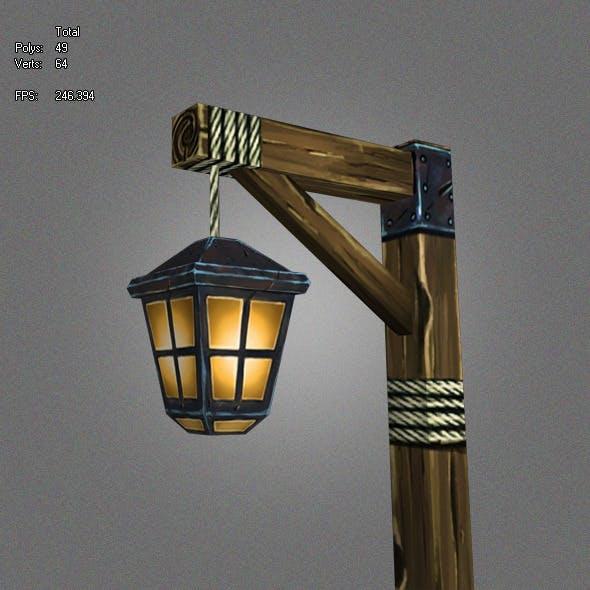 Low Poly Lantern_1 - 3DOcean Item for Sale