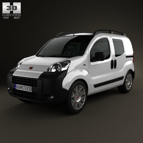 Fiat Fiorino Combi 2011 - 3DOcean Item for Sale