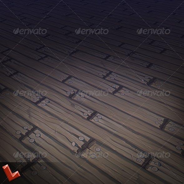Wooden Floor Tile 03 - 3DOcean Item for Sale