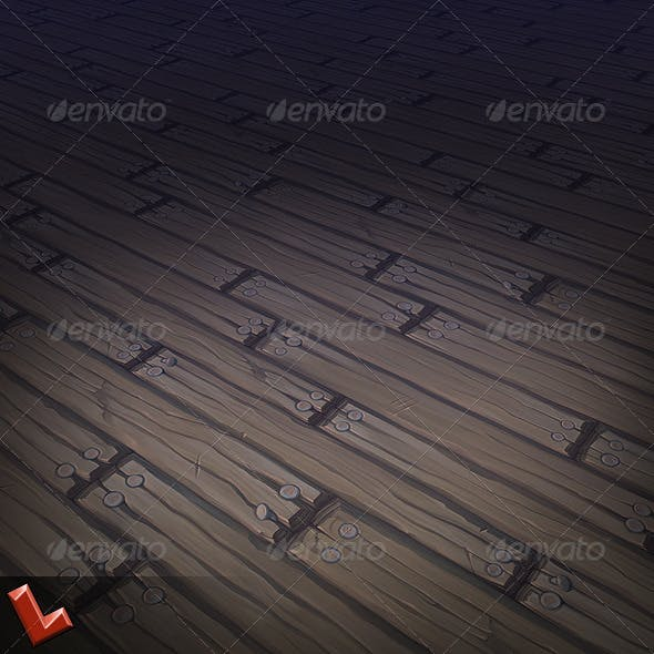 Wooden Floor Tile 03