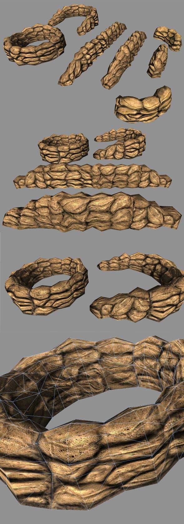 Sandbags Covers - 3DOcean Item for Sale