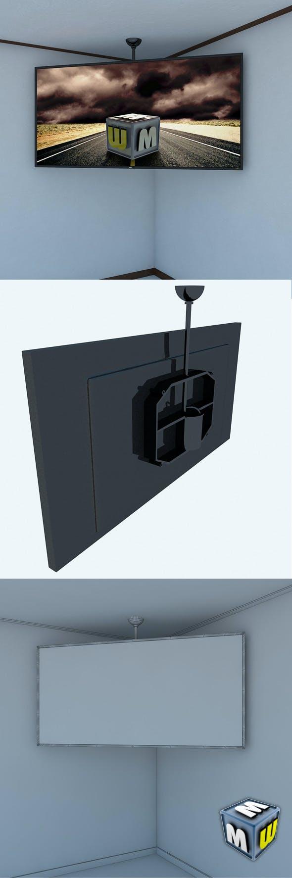 LCD Big Screen MAX 2011 - 3DOcean Item for Sale
