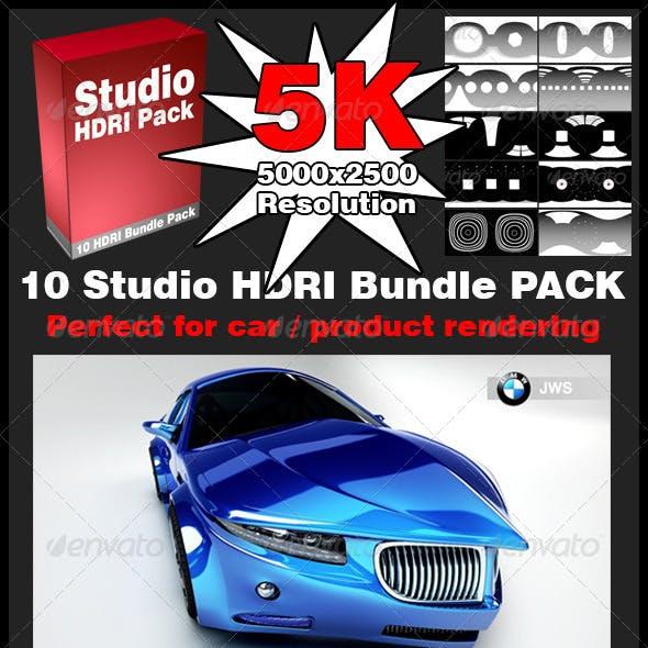 HDRI Studio Bundle Pack 5K