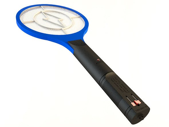 Mosquito Racket Zapper - 3DOcean Item for Sale