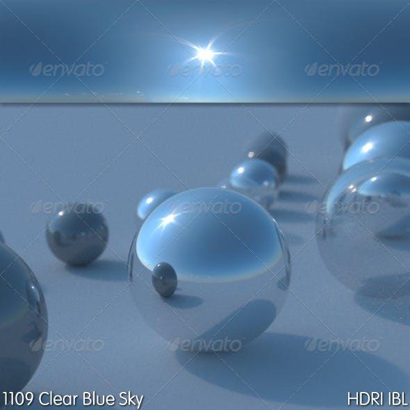HDRI IBL 1109 Clear Blue Sky