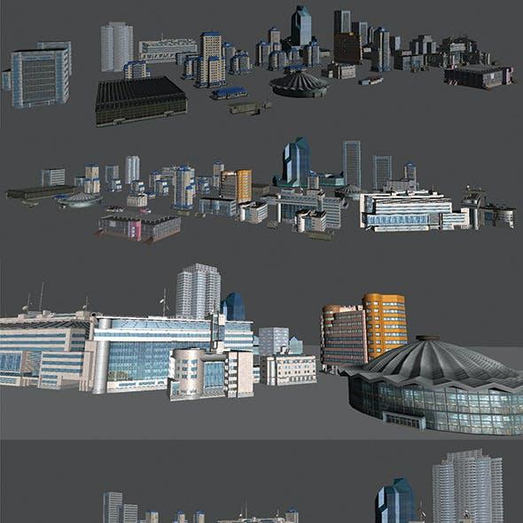 City Buildings Pack
