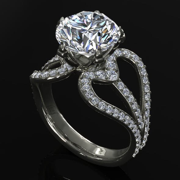 CK Diamond Ring 004