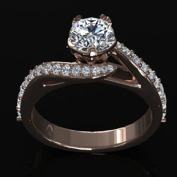 CK Diamond Ring 005
