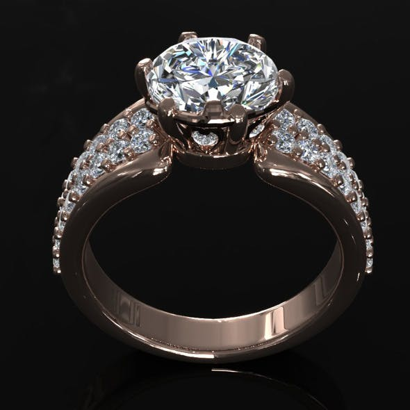 CK Diamond Ring 006