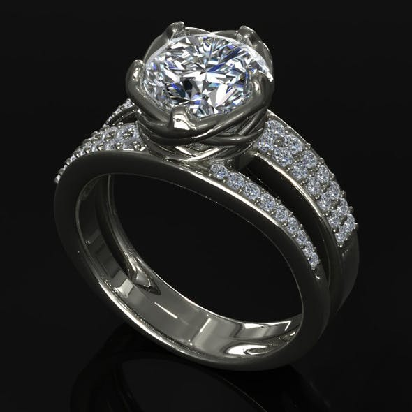 CK Diamond Ring 007 - 3DOcean Item for Sale