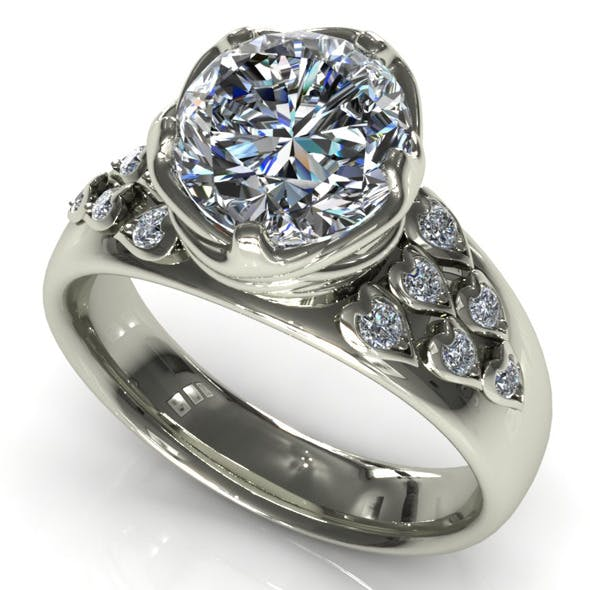 CK Diamond Ring 009