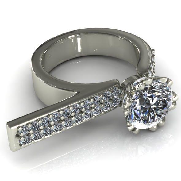 CK Diamond Ring 010 - 3DOcean Item for Sale