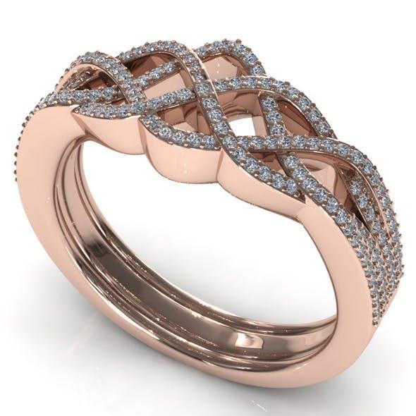 CK Diamond Ring 011 - 3DOcean Item for Sale