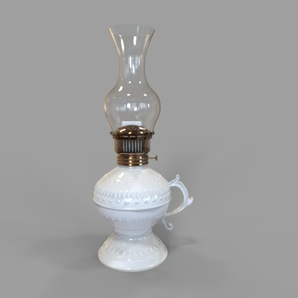 Gas - Oil Lamp - 3DOcean Item for Sale