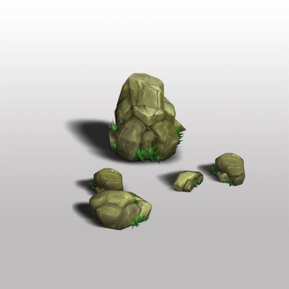 Rocks Low Poly