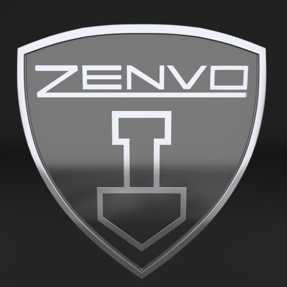 Zenvo Logo - 3DOcean Item for Sale